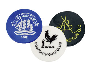 printed plastic golf markers